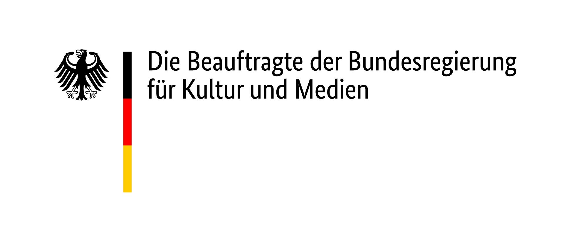 Logo der Beauftragten für Kultur und Medien (BKM)